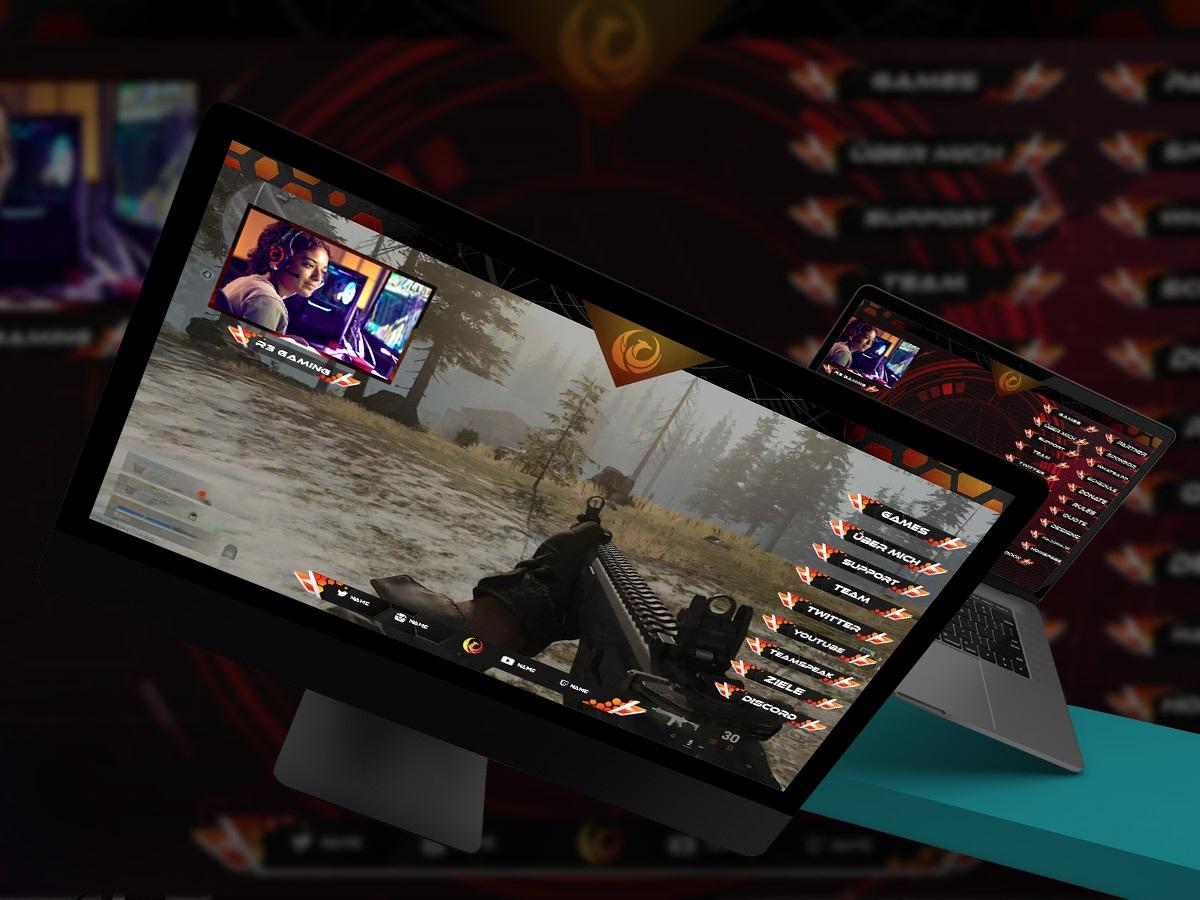 stream » Streamer » Gaming Homepage » Logo Design