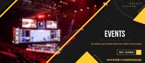 events » Streamer » Gaming Homepage » Logo Design