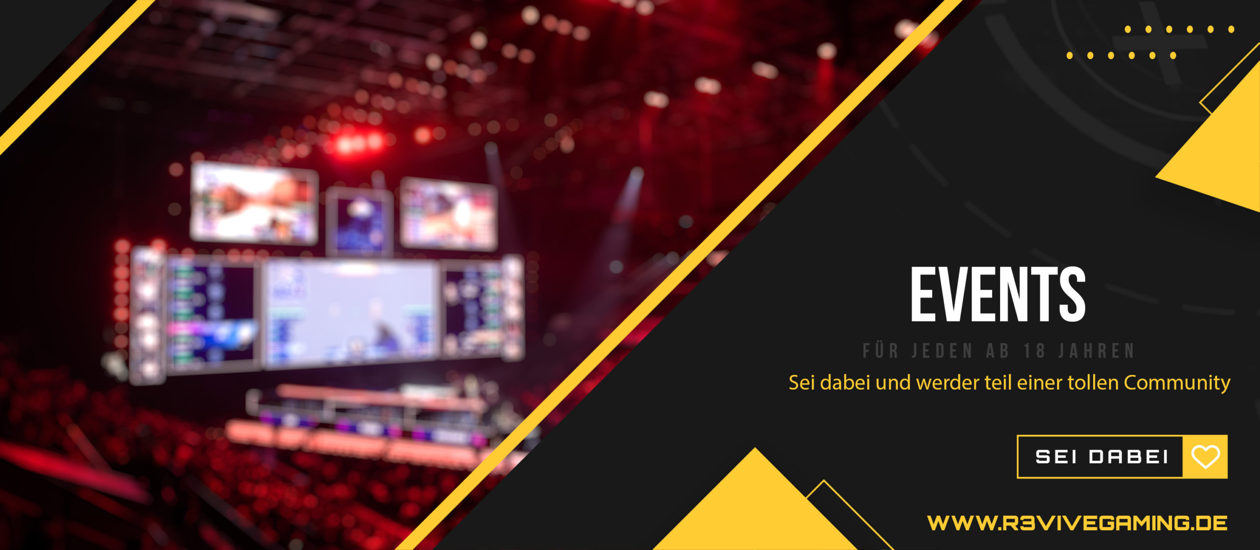 events scaled » Streamer » Gaming Homepage » Logo Design