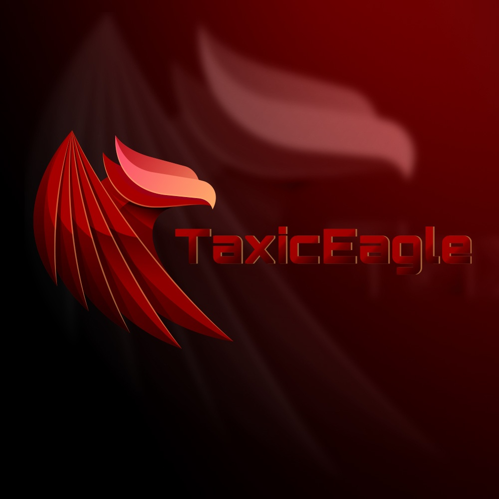 Logo Taxic Eagle 1 » Streamer » Gaming Homepage » Logo Design
