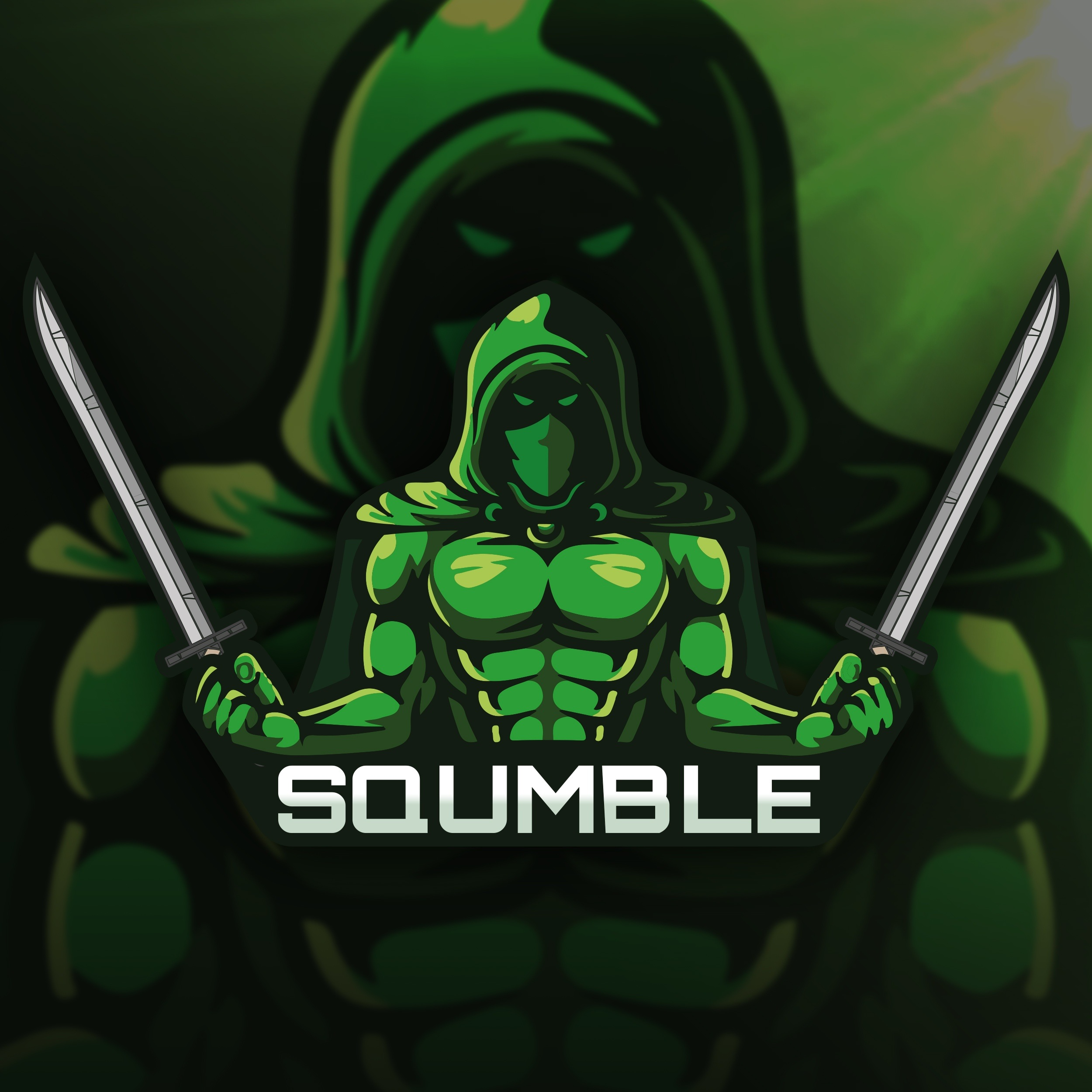 Logo mockup 1 » Streamer » Gaming Homepage » Logo Design