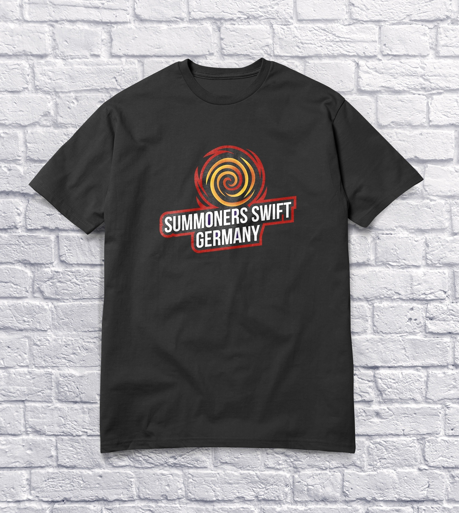 Tshirt Clean Mockup Red » Streamer » Gaming Homepage » Logo Design