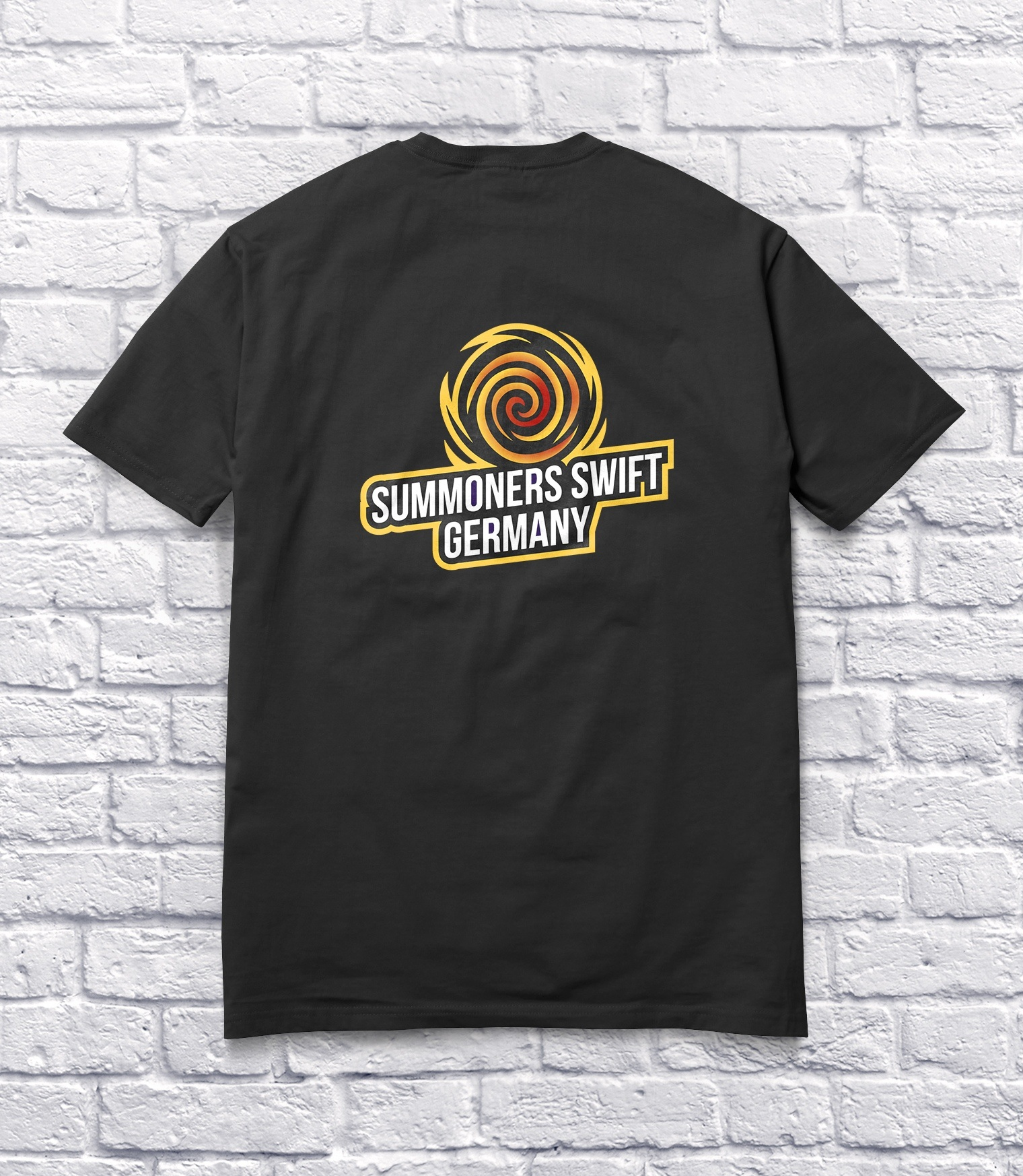 Tshirt Clean Mockup Yellow » Streamer » Gaming Homepage » Logo Design
