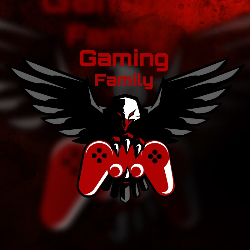 gaming family 1 » Streamer » Gaming Homepage » Logo Design